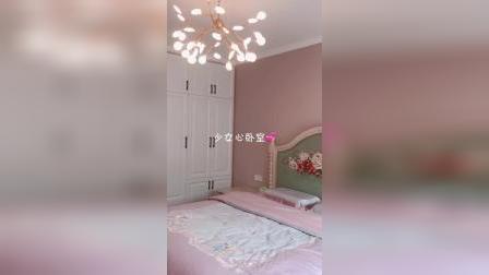 卧室乳胶漆颜色越看越喜欢