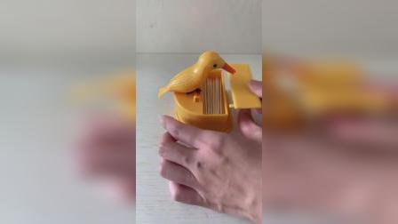 智能小鸟牙签盒