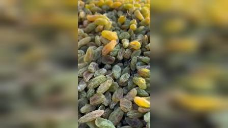这是大美新疆吐鲁番的绿香妃葡萄干,口感超甜