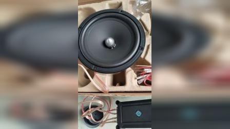赖声两分频汽车6.5寸喇叭测试