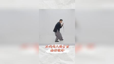 帅气的太极剑片段 陈式心意混元太极拳第三代传人冯彦博老师演练 学学看么?