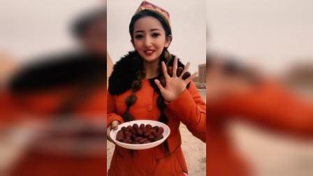我在新疆吐鲁番, 这里的红枣都是原生态的,你们想吃吗?