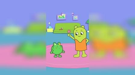 咕力咕力:爱棒棒糖 小朋友们喜欢吃棒棒糖吗