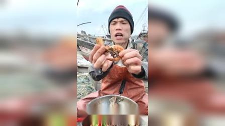 追剧下酒必备的烤虾干,特别适合爱吃海鲜的懒人,连壳都能吃