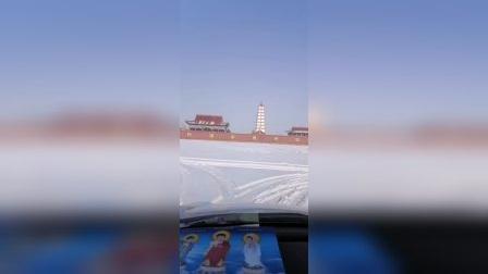内蒙古巴彦淖尔临河,环城绕佛
