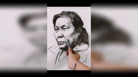 美术培训班-杭州将军画室素描联考示范-美术艺考