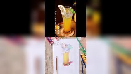 坚果屋|微课堂—彩铅《饮品》(2)