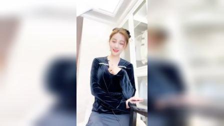 花椒女主播苏.小甜甜直播视频2020.4.20
