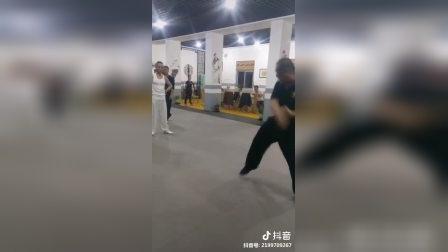 刘霓大师混元肘表演