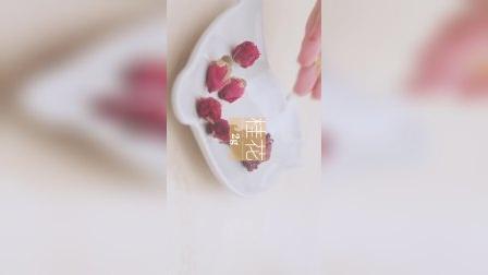 「厨娘物语」洛神花热玫瑰。天气冷了,来杯暖暖的花茶吧~