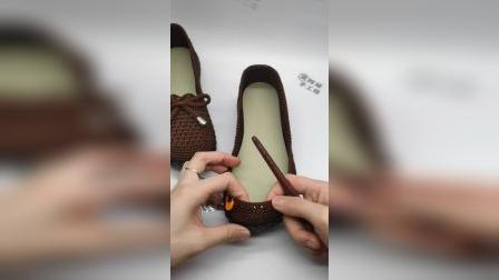 蝴蝶绳女士单鞋教程
