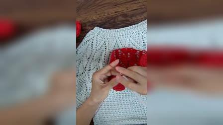 【直播教程】小辛娜娜羽毛衣编织教程2手工钩织毛衣