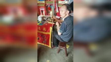 紫阳县毛坝道士杨维华—大坝沙湾