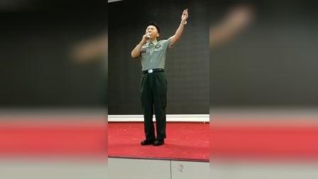 齐航《军人使命》现场版 庆八一西点军校慰问演出