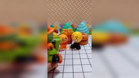 宝宝益智玩具:机器人僵尸要离开了