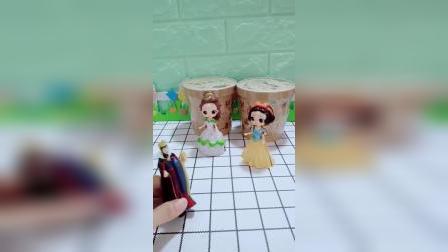 宝宝益智玩具:皇后给两位公主准备了午饭