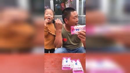 亲子游戏:爸爸在这骗小孩子呢?