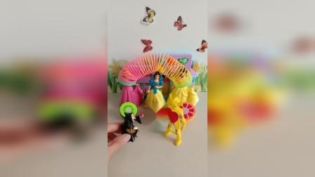 宝宝益智玩具:谁会来救白雪公主