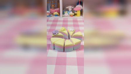 简单的纸粘土蛋糕教程