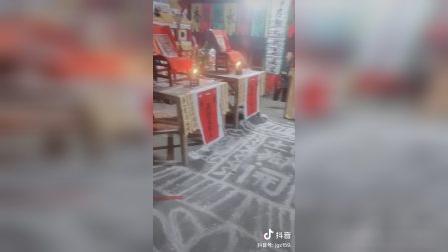 岳阳县公田镇道场破地狱坛场布置