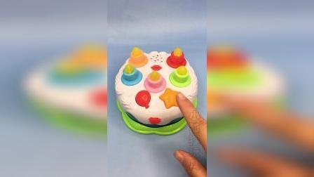儿童音乐生日蛋糕,太有趣啦