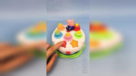 儿童音乐生日蛋糕,小朋友你几岁啦