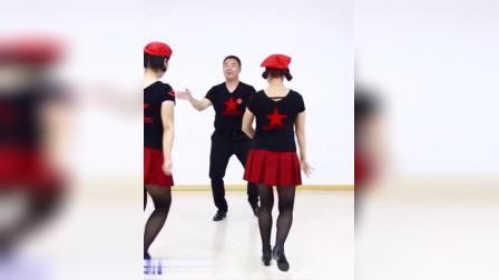 君晓天云水兵舞裙子女夏季新款服装跳舞半身裙舞蹈裙成人广场舞短裙套装