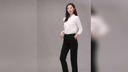 君晓天云西装裤女直筒宽鬆垂感九分裤夏季薄款女裤职业工作小西裤黑色裤子