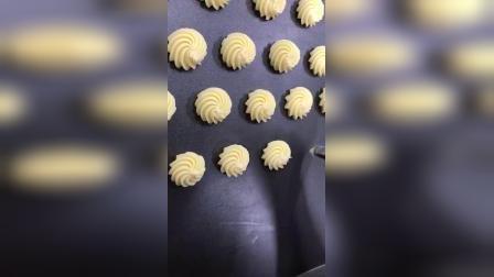 金领西点学校曲奇饼干制作