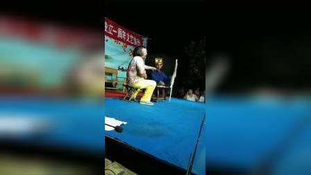 山东省济南市莱芜区大王庄镇温家庄村天天乐剧团一周年庆文艺演出