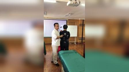 庞老师讲解后背痛的调理原理-庞氏柔性正骨