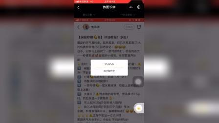 如何利用传图识字app将小红书的文章弄到其他平台?