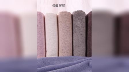 君晓天云500g金号加厚加大纯棉毛巾浴巾组合2件套A类家用成人男女素色浴巾