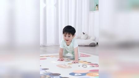 君晓天云可优比宝宝爬爬垫儿童爬行垫加厚环保婴儿XPE客厅家用泡沬地垫
