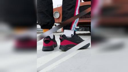 君晓天云鸿星尔克男跑鞋2019秋季新品休闲运动半掌气垫鞋男子跑步健步鞋男