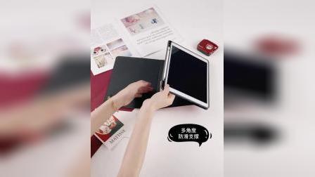 君晓天云苹果ipadair3保护套笔槽2019新款卡通网红pencil平板电脑10