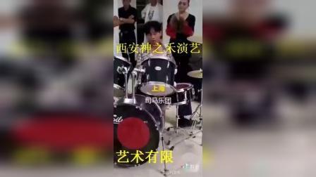 架子鼓演奏(神之禾演艺刘小谋)