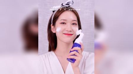 君晓天云朗皙氨基酸洗面奶敏感肌温和控油深层清洁洗面乳慕斯泡沫带刷头女