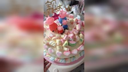 琦宝宝的两周岁生日蛋糕