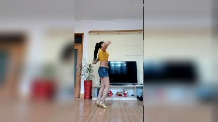 山东茉莉广场舞原创 幺妹 步子舞
