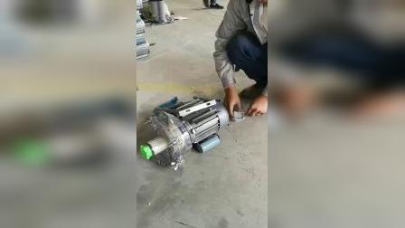 沧州昌鸿透明壳电动磨浆机支架安装说明