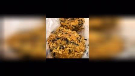 泸溪河桃酥推荐他家肉松小贝,酥酥脆脆很好吃,沙拉酱也不会很腻,肉松和海苔料足