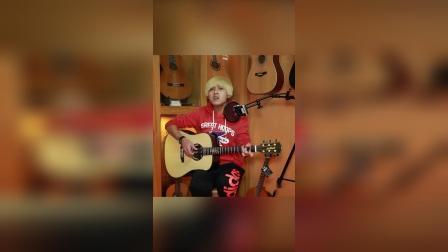 刘桑桑,朱丽叶吉他弹唱