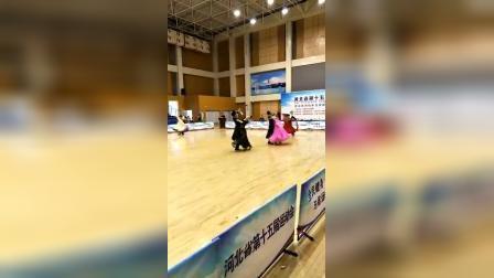 河北省第十五届运动会摩登舞决赛VW