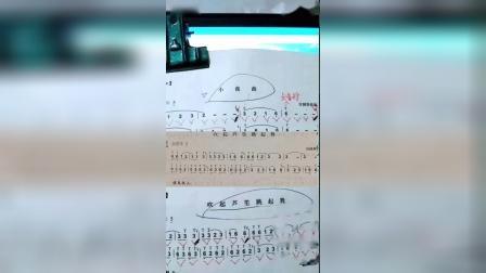 """葫芦丝中音3和中音3的练习包括乐理知识-""""火山小视频""""欧阳韵律音乐-2018年9月柑田录制_高清"""