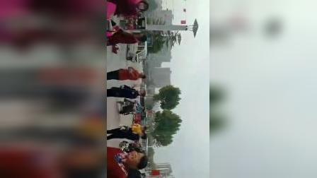 禹城锣鼓艺术新湖夕阳红舞蹈秧歌队