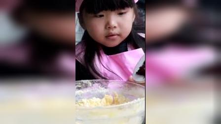 小朋友超喜欢吃的奶酥,蔓越莓也可以换成葡萄干。