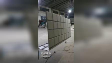方格方盒幕墙烤漆