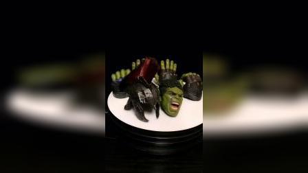 hottoys绿巨人3.0 角斗士 可动眼 超大武器 庞大的身躯 很砸手的一款
