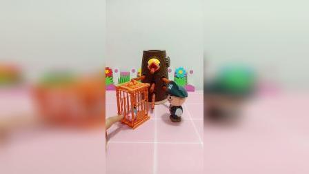 小鸟不想吃辣条!